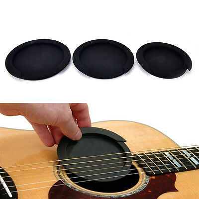 Silicone Guitar Feedback Buster Soundhole Cover Sound Buffer Hole Protector BB