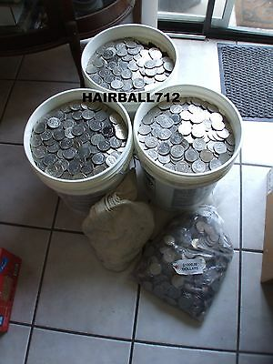 100 Eisenhower Dollars For Your Slot Machine Fine To Au Free Shipping !!!!!