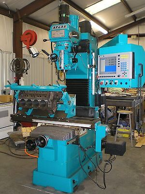 Atlas Clausing CNC milling machine with Winona Van Norman tooling automotive