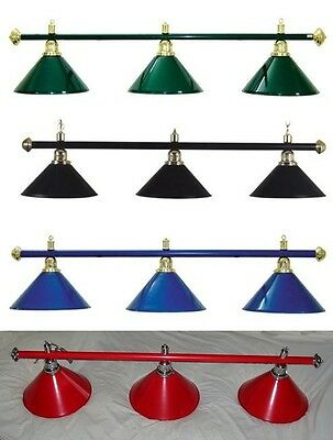 New Rosetta Superior Pool Table Light Billiard Snooker Lighting Shade Canopy