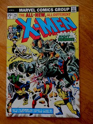 Uncanny X-Men #96 (1975 Marvel) 1st appearance of Moira Mactaggert HIGHER GRADE