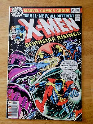 Uncanny X-Men #99 (1976 Marvel Comics) Sentinels appearance HIGHER GRADE ISSUE