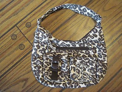 Justice Leopard Girls Handbag