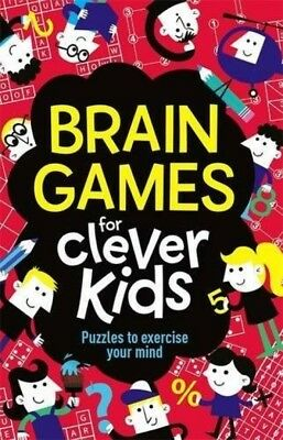 Brain Games For Clever Kids Paperback Mind Puzzle Memory Exercise Challenges