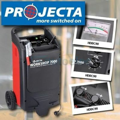 Projecta Hdbc90 12 24 Volt 70A Workshop Car Truck Charger Engine Starter Start