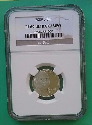 US 2009 S Nickel 5c PF69 Ultra Cameo