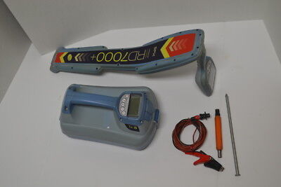 SPX RADIODETECTION RD7000 +  DL TX10 LOCATOR SET w/ COUPLER & CABLES