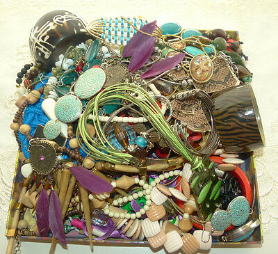 "Jewellery Bulk Lot Over 50 Pieces  Mixed Jewellery Great Value Lot 62 ""bargain"""