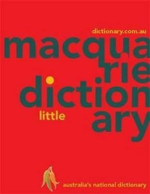 NEW Macquarie Little Dictionary By Macquarie Dictionary Paperback Free Shipping