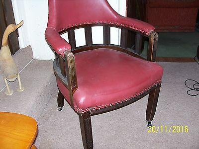 Antique Office Study Chair