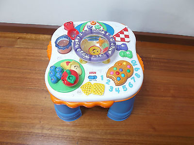 """""""fisher Price"""" Musical Activity Table"""