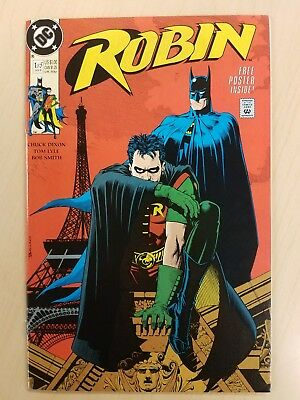 Robin #1 Of 5 (Jan1991) Free Poster Inside  (Dc Comics)