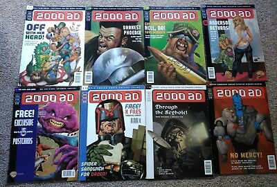 2000ad progs 1048 to 1029