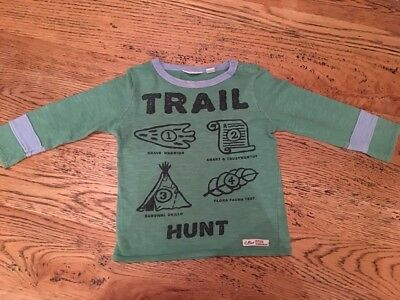 Boys Country Road Long Sleeved Top Size 2 VGC