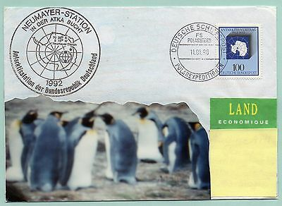Polarpost Schiffspost Antarktis 1998 - Neumayer Station - FS Polarstern (4)