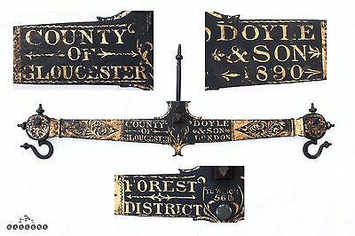 "32"" County of Gloucester Iron Beam Scale Arm - Doyle & Sons 1890"
