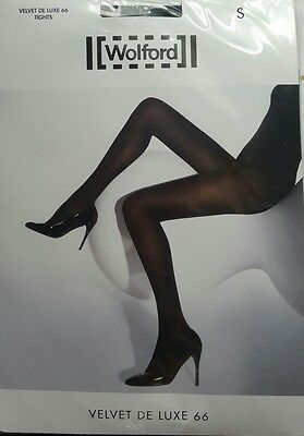 Wolford Velvet De Luxe 66 Tights small