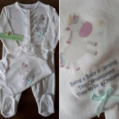 Baby Girl Next 3 6 Months Sleepsuit • £1 00 Pic UK
