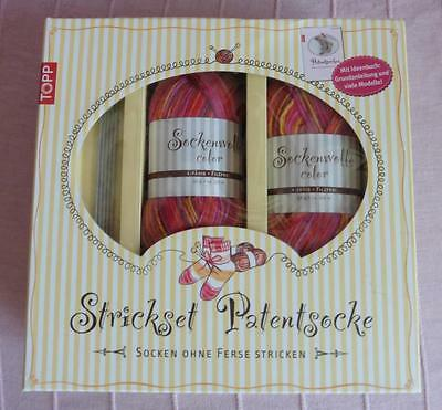 NEU - Strickset | Patentsocke