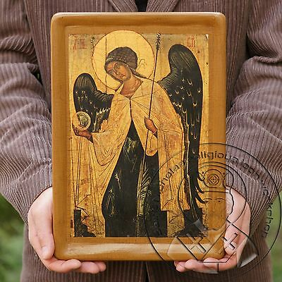 The Archangel Gabriel Byzantine Christian Orthodox Religious Icon