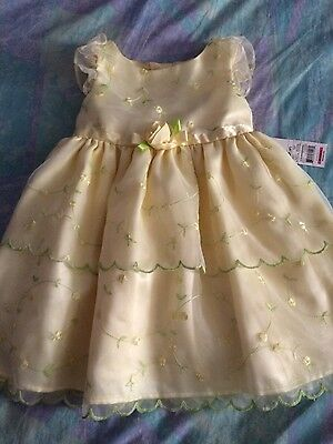 Toddler girl party dress size 3T NWT
