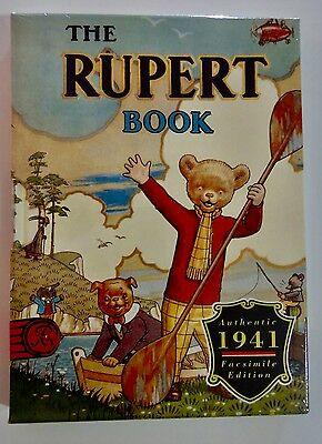Rupert Bear Limited Edition Facsimile 1941  Annual Sealed Brand New
