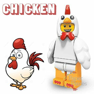 Chicken Suit Guy Minifigure fits Lego Toy P1031