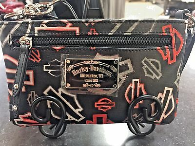 Harley-Davidson Canvas Hip Bags with Detachable Strap