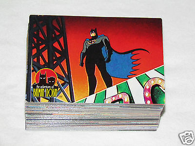 1995 SKYBOX ADVENTURES OF BATMAN & ROBIN DC Comics Trading Card Full Set #1-90