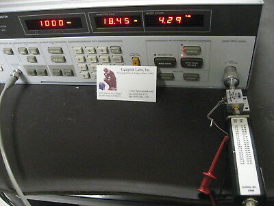 HP8970A & HP346B Noise Fig. Meter & Source WORKS!  ENR Excess Noise Ratio set