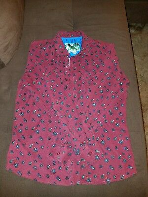 Toddland Corduroy Gnome Button up Shirt