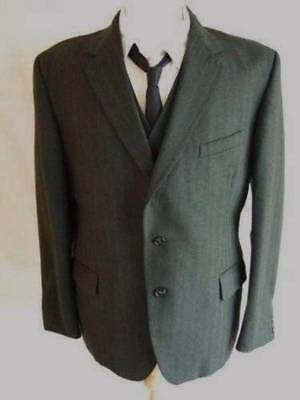 Hickey Freeman Men's 2 Button Blazer Suit Jacket 42L 42 Long