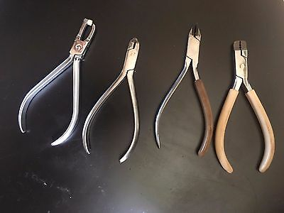 4 dental pliers