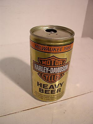 Harley Davidson Heavy Beer Can