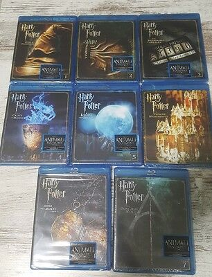 Harry potter saga completa 8 film 8 dischi bluray SE