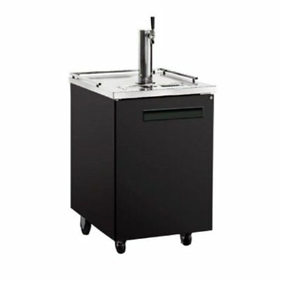 "New 24""  1 Keg Single Head Draft Beer Dispenser Direct Draw Cooler Free Shipping"