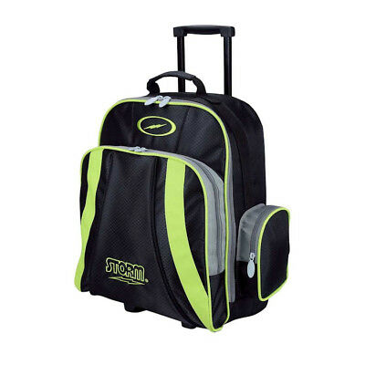 Storm Rascal Black & Lime One Ball Tenpin Bowling Roller Bag