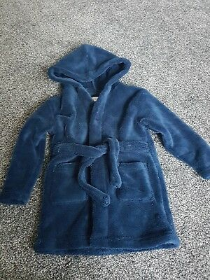 baby boys dressing gown 18-24