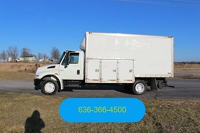 2002 International 4300 Used 16FT. Box DT466 Diesel Auto 1 Owner Delivery Cube