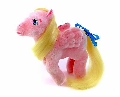 Vintage G1 My Little Pony Best Wishes So Soft Pegasus Ponies Pink Candles 80s