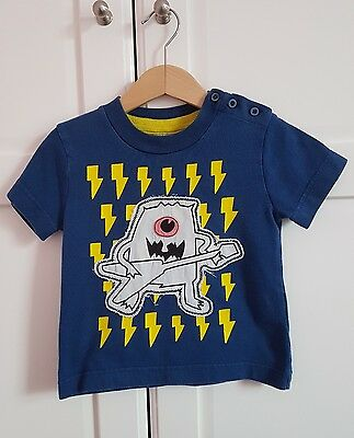 Mini / Baby Boden boy applique t-shirt. Age 18 - 24 month's/ 1 1/2 - 2 years