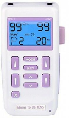 Mums-To-Be Obstetric and Labour Pain Relief Dual Channel Stimulator With Boost