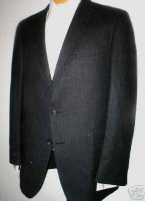 Hart Schaffner & Marx Men's 2 Button Wool Suit 44R 44 Regular