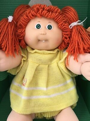 Vintage Cabbage Patch Doll-Red Hair #5