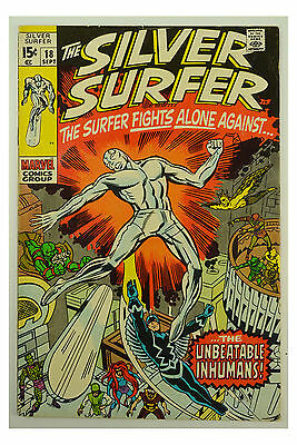 1970 Marvel The Silver Surfer # 18 GD+ Comic Book