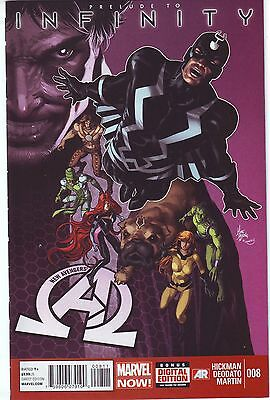NEW AVENGERS #8 NM 9.4 1ST Appearance The BLACK ORDER THANOS Infinity War 2013