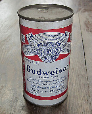 Vintage Budweiser Lager Beer Can Flat Top Can Newark Four Cities 4 City 25N 290