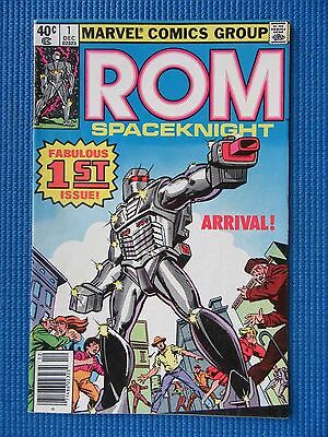 Rom # 1 - (Fn/vf) - Origin And 1St Appearance Of Rom - Frank Miller Cover