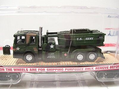 Menards O Gauge Flatcar with Army Truck & HIMARS - New Release!