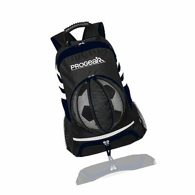 d49fba5f93a1 ProGear Soccer Backpack w Ball Pocket Sports Gym Bag Holds Shoes Cleats  Wate.